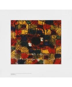 Paul Klee, Schwarzer Brennpunkt (Offset)