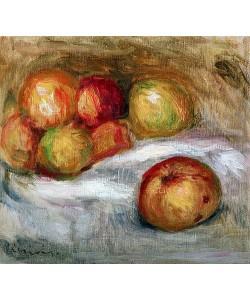 Auguste Renoir, Stillleben mit Äpfel. Um 1910