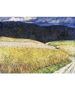 Wassily Kandinsky, Kallmünz - Gewitterstimmung (Die Postkutsche). 1904.