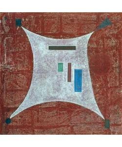 Wassily Kandinsky, In die vier Ecken. 1932