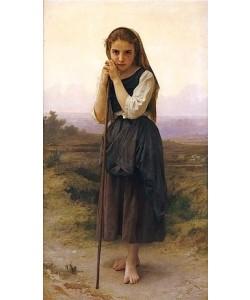 William Adolphe Bouguereau, Petite Berger. / Kleine Hirtin.