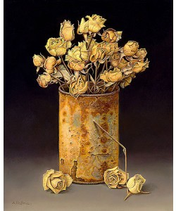 Aad Hofman, Can with dried roses