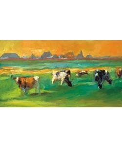 Dinie Boogaart, Cows near Skuzum
