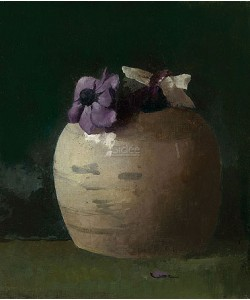 Jan Voerman, Anemones in Ginger jar