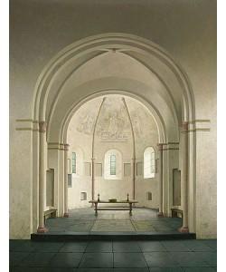Henk Helmantel, Apse of the romanesque church at Bozum