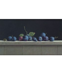 Henk Helmantel, Still life with plums
