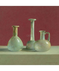 Henk Helmantel, Roman glass