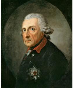Anton Graff, FRIEDRICH II. DER GROßE- KÖNIG VON PREUßEN