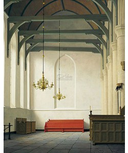 Henk Helmantel, Interior St. Nicholas Church at Monnickendam