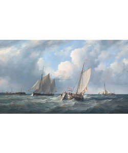 Peter J. Sterkenburg, Sailing ships outside harbour