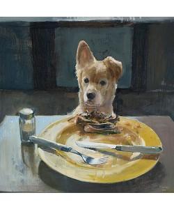 Pieter Pander, Robby with chicken bones