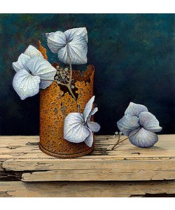 Aad Hofman, Can with hydrangeas