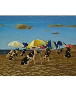 Bas Sebus, Cows on the beach