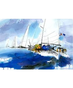 Ingrid Dingjan, Sea, sky and sailing