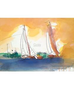 Ingrid Dingjan, Sailing in the sunset