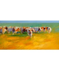 Dinie Boogaart, Red cows in summery light