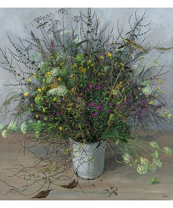 Patrick Creyghton, Wildflower bouquet, All Souls' day