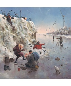 Marius van Dokkum, A turn on the Ice