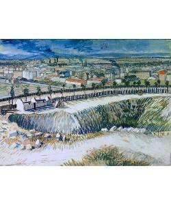 Vincent van Gogh, Am Stadtrand von Paris nahe Montmartre. 1887.