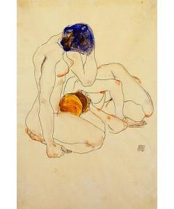 Egon Schiele, Zwei Freundinnen. 1912