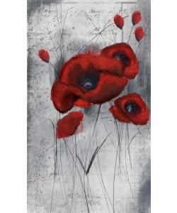 Cynthia Alvarez, Red Flowers 1
