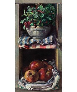 Jef Diels, Chest with snowberry and apples