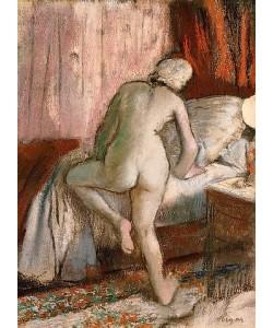 Edgar Degas, Schlafenszeit (Le Coucher). Um 1883