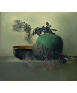 Pieter Knorr, Purple branch with chinese bowl