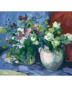 Carla Rodenberg, Two Bouquets