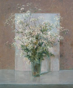 Rein Pol, Still life with Cow parsley