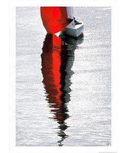 Philip Plisson, Voile rouge - La Trinité sur mer