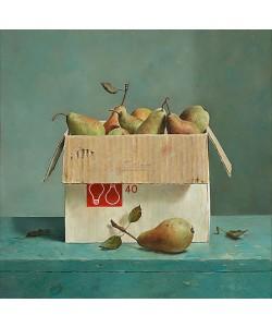 Marius van Dokkum, Box with pears