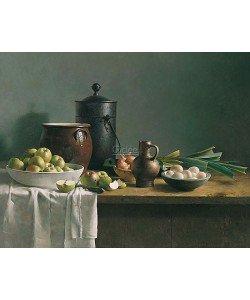 Henk Helmantel, Still life with vegetables