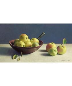 Henk Helmantel, Still life with apples