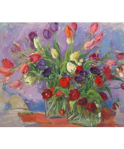 Carla Rodenberg, Tulips and anemones