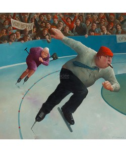 Marius van Dokkum, Speed skating