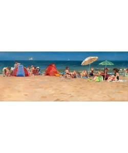 Hans Versfelt, Beach on summer day