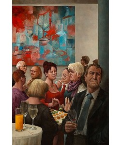 Marius van Dokkum, Drinks and nibbles