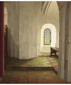Henk Helmantel, Onder het orgel in de N.H. Kerk te Krewerd