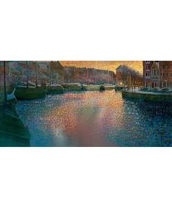 Ton Dubbeldam, Canal in winter