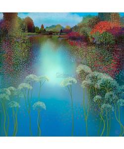 Ton Dubbeldam, The park, spring reflection