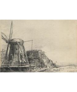 Rijn van Rembrandt, De Molen