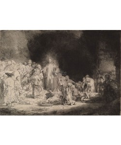 Rijn van Rembrandt, Hundred Guilder Print