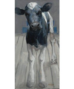 Pieter Pander, Black and white Holstein calf II