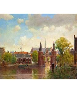 Christiaan Afman, Waterpoort, Sneek