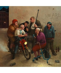 Marius van Dokkum, Second Youth