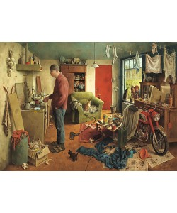 Marius van Dokkum, A man's World