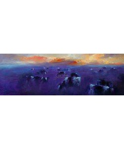 Dinie Boogaart, Cattle in evening light