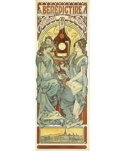 Alfons Mucha, Bénédictine. 1898
