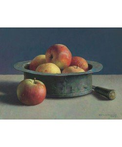 Henk Helmantel, Copper pot with apples